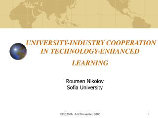UNIVERSITY-INDUSTRY COOPERATION IN TECHNOLOGY-ENHANCED LEARNING