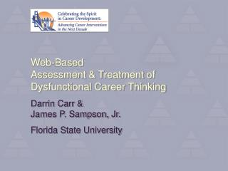 Web-Based Assessment & Treatment of Dysfunctional Career Thinking