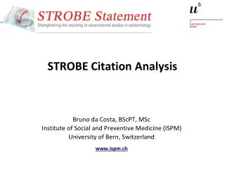 STROBE Citation Analysis