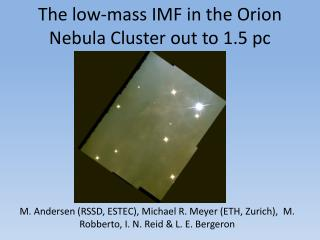The low-mass IMF in the Orion Nebula Cluster out to 1.5 pc