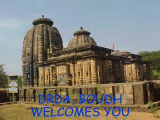 DRDA, BOUDH WELCOMES YOU