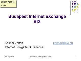 Budapest Internet eXchange BIX
