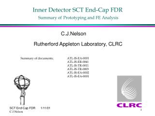 Inner Detector SCT End-Cap FDR Summary of Prototyping and FE Analysis