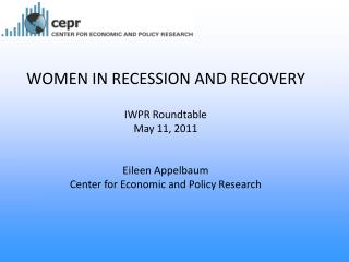 Women and Men in Recession