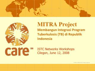 MITRA Project Membangun Integrasi Program Tuberkulosis (TB) di Republik Indonesia