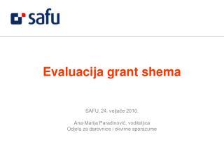 Evaluacija grant shema