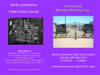 North Lanarkshire Trade Union Council