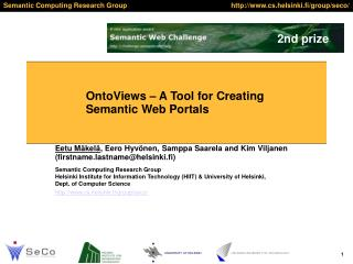 OntoViews – A Tool for Creating Semantic Web Portals