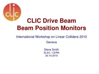 CLIC Accelerator Complex
