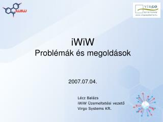 iWiW Problémák és megoldások