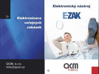 Elektronizace veřejných zakázek