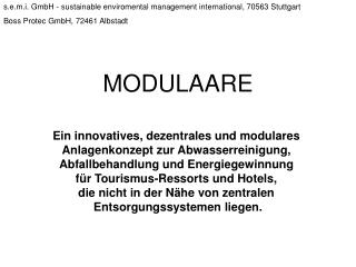 s.e.m.i. GmbH - sustainable enviromental management international, 70563 Stuttgart