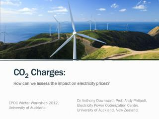 CO 2  Charges: