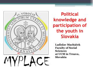 Political knowledge and participation of the youth in Slovakia