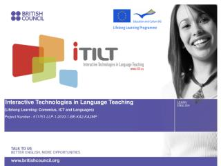 Interactive Technologies in Language Teaching (Lifelong Learning: Comenius, ICT and Languages)