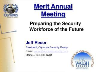 Merit Annual Meeting