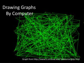 Drawing Graphs     By Computer