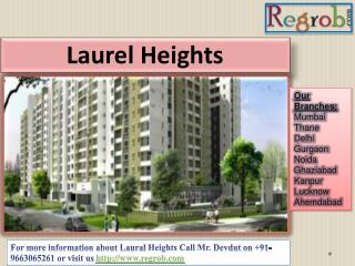 2/3 bhk apartments in laurel heights in bangalore