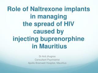 Dr Anil Jhugroo Consultant Psychiatrist Apollo Bramwell Hospital, Mauritius