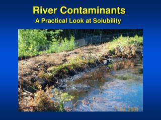 River Contaminants