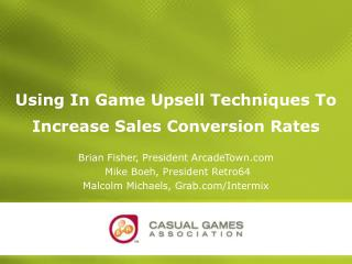 Using In Game Upsell Techniques To Increase Sales Conversion Rates