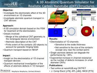 A 3D Atomistic Quantum Simulator for  Realistic Carbon Nanotube (CNT) Structures