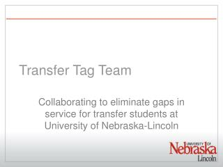 Transfer Tag Team