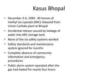 Kasus Bhopal