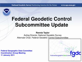 Federal Geodetic Control Subcommittee Update