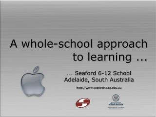 A whole-school approach to learning ...