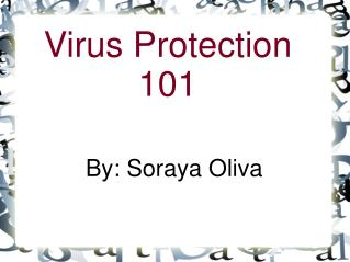 Virus Protection 101