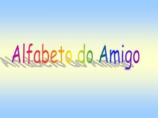 Alfabeto do Amigo