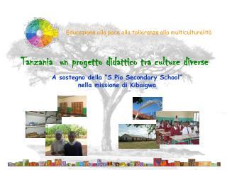 Educazione alla pace alla tolleranza alla multiculturalità