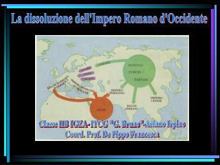 La dissoluzione dell'Impero Romano d'Occidente