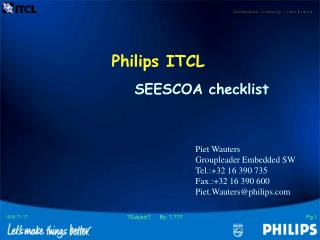 Philips ITCL
