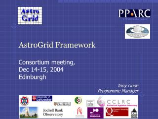 AstroGrid Framework
