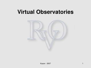 Virtual Observatories