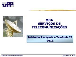 MBA SERVIÇOS DE TELECOMUNICAÇÕES