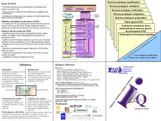 Enjeux de l'IVVQ - Permettre de prononcer la qualification du système par rapport au besoin réel