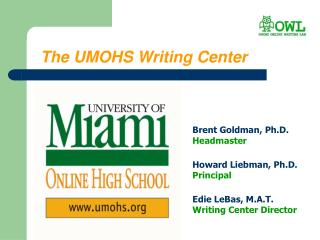 The UMOHS Writing Center