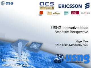 USNG Innovative Ideas Scientific Perspective