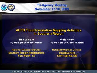 AHPS Flood Inundation Mapping Activities in Southern Region