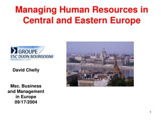 Managing Human Resources in Central and Eastern Europe
