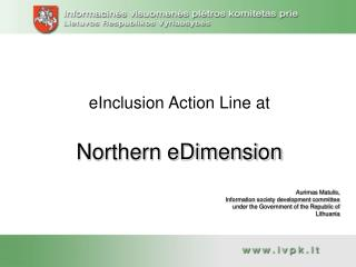 eInclusion Action Line at