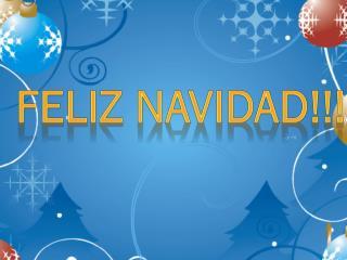 ���Feliz Navidad!!!