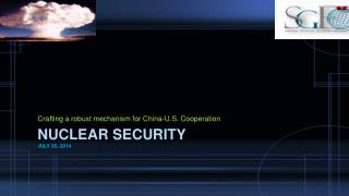 Nuclear Security July 26, 2014