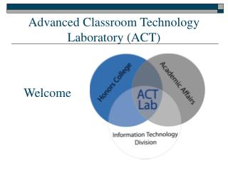Advanced Classroom Technology Laboratory (ACT)