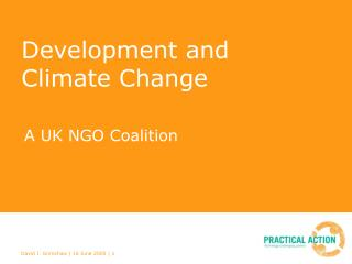 Development and Climate Change