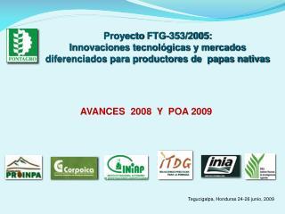 Proyecto  FTG-353/2005: