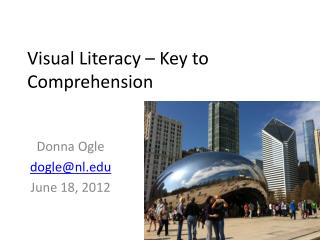 Visual Literacy – Key to Comprehension